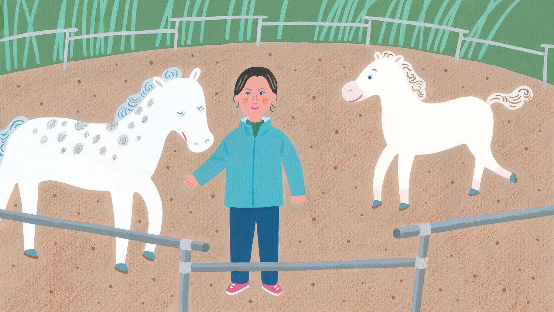 『イイはな新聞 #30』2019年12月7日放送(滋賀県・賀茂神社の近くで日本在来種の馬の保護と繁殖に取り組んでいる磯部育実さんについて)