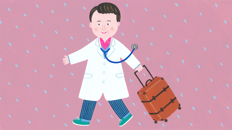 『イイはな新聞 #35』2020年2月8日放送(伊豆七島の神津島(こうずしま)まで船に乗って往診に出かけている「キャンベル動物病院」院長・加藤拓也さんについて)