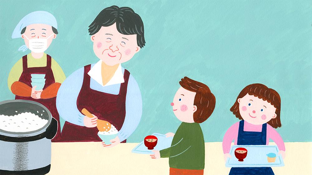 『イイはな新聞 #2』2019年2月23日放送(大阪市東淀川区で子どもたちに朝食を提供している「朝ごはんやさん」について)