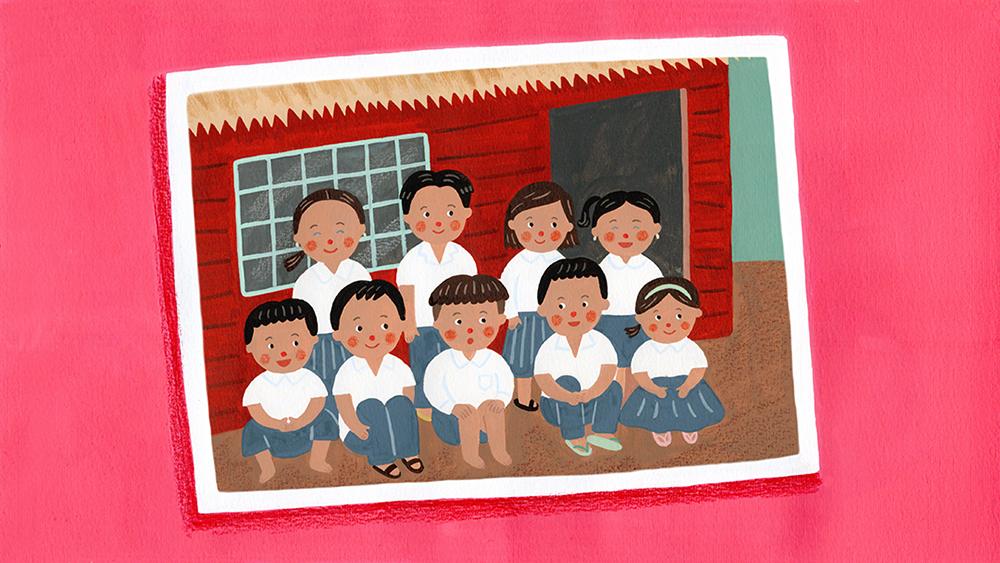 『イイはな新聞 #5』2019年3月16日放送(カンボジアの小学校を訪ねて集合写真を撮影する活動をしている遠藤啓さんについて)